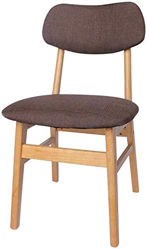 YLCJ eetkamerstoel, stof voor de stoelen, reiniging, afneembaar sponskussen, houder van massief hout, zacht, vier poten, stabiele slaapkamerstoel (kleur: groen) Blue