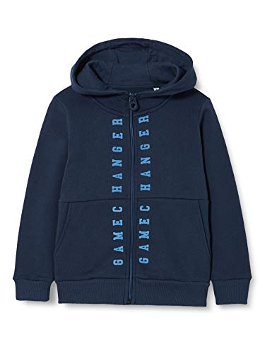 TOM TAILOR Baby-Jungen Sweatjacke Pullover, Dress Blues|Blue, 104/110