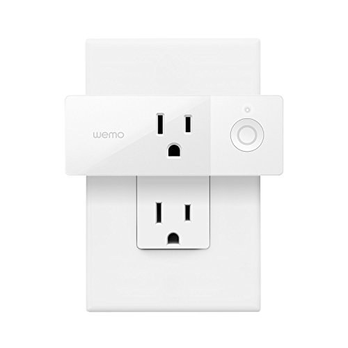 Wemo Mini Smart Plug (1-Pack), Wi-Fi Enabled, Compatible with Alexa and Google Home (F7C063-RM2) (Renewed)