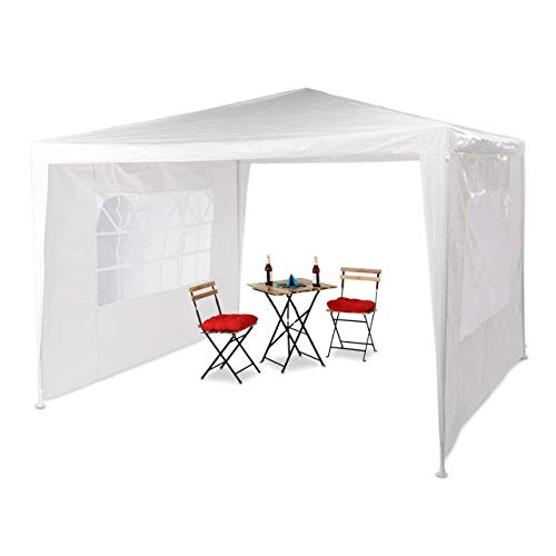 Relaxdays -   Pavillon 3x3 m, 2