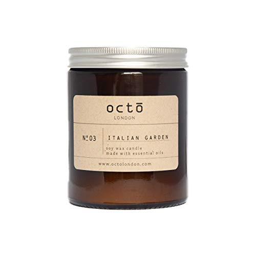 Italian Garden essential oil candle (Rosemary + Sage + Orange) 180ml