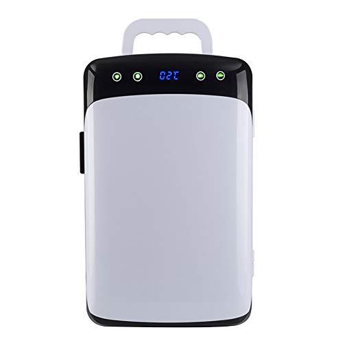 Autokühlschrank 12V Autokühlschrank Wärmer 12 L Elektrischer Kühlschrank Tragbarer Reisekühlschrank Kühlbox