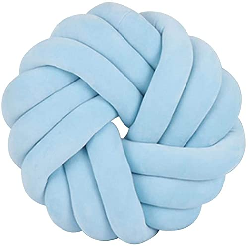 Cojín decorativo de almohada de bola almohada para almohada para el amortiguador de nudos de almohada de lanza de dormitorio  Una almohada de bola de nudo versátil para muchas ocasion