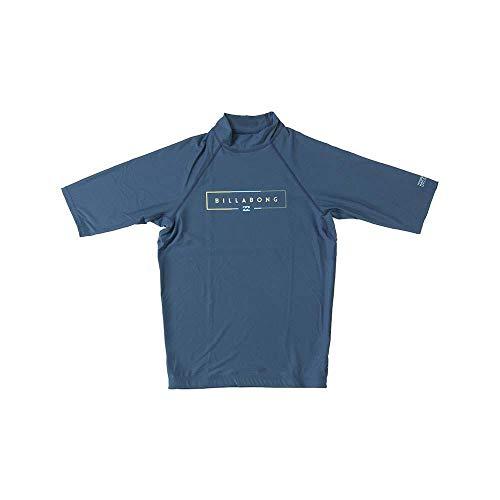 BILLABONG Unity Ss Rash Vest Small Dark Blue