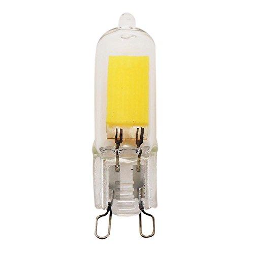 YITEJIA-LIGHTBULBS Hoogwaardig LED-licht G9 2W LED-lamp, 20W halogeenlampen vervangen, Bi Pin, 3000K / 6000K, niet dimbare lampen voor hoofdverlichting, AC100-130V G9 pak van 10