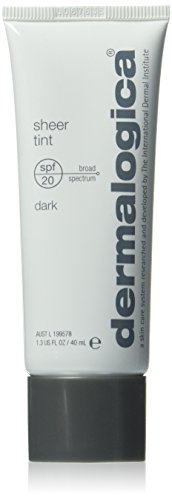 Dermalogica Sheer Tint Moisture Spf 20 Dark, getinte moisturizer, per stuk verpakt (1 x 40 ml)