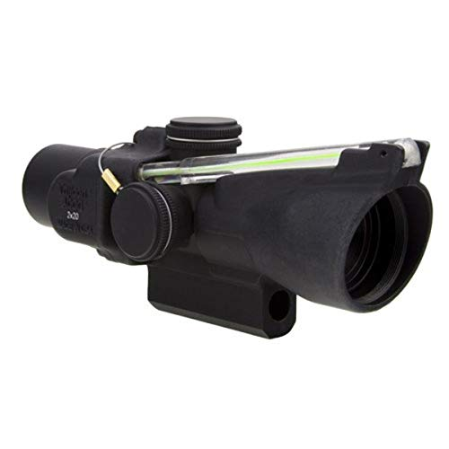 Trijicon ACOG 2 X 20 Scope Dual Illuminated Crosshair Reticle, Green