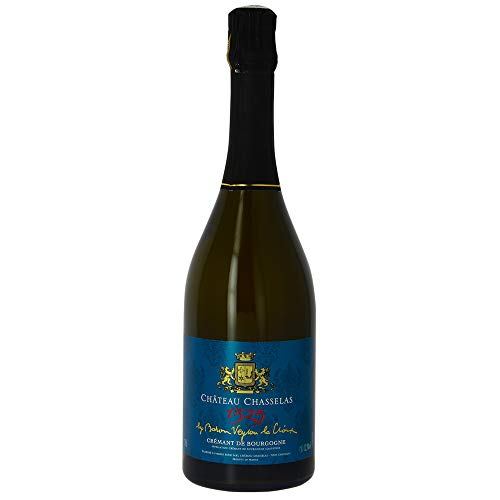 6 bouteilles • CHÂTEAU DE CHASSELAS1325 Crémant de Bourgogne Blanc 6x75cl