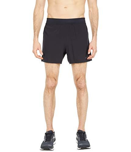 "Brooks Sherpa 5"" Shorts Black LG 5"