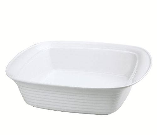 Küchenprofi 750218238 - Pirofila per Lasagne a Bordo Alto, 38 cm, in Porcellana temprata