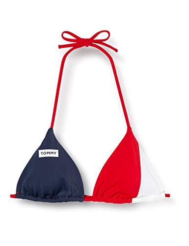 Tommy Hilfiger Damen Trangle RP Bikinioberteil, Rot (RED XCN), (Herstellergröße:XL)
