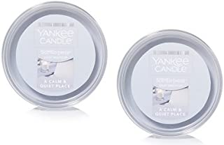 Yankee Candle 2 Pack A Calm and Quiet Place Easy MeltCup. 2.2 Oz.