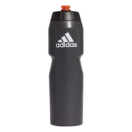 adidas Unisex Performance 750 ml Trinkflasche, Black/Black/Solar Red, One Size