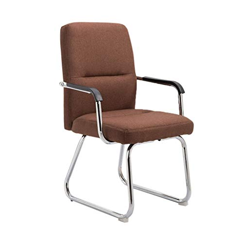 Bürostuhl Personalstuhl Empfangsstuhl Konferenzstuhl Haushalt Seniorenstuhl Lernstuhl Computerstuhl GMING (Color : Brown)