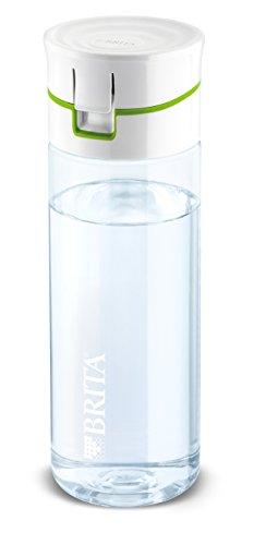BRITA Fill & Go, Trinkflasche mit Wasserfilter, 0.6 Liter, grün