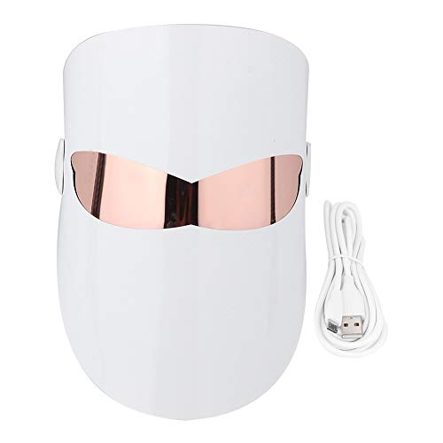 Maschera a LED, 32 LED Maschera termale per il viso Ringiovanimento della pelle Sbiancamento dell acne Rimozione delle rughe Dispositivo di bellezza Strumento di bellezza