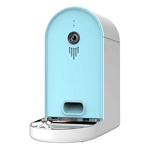 Warm Home Smart Pet 6L automatische datasynchronisatieapparaat 165 ° nachtzicht camera groothoek USB-interface Dual Smart Kat Blue Mac, Blauw