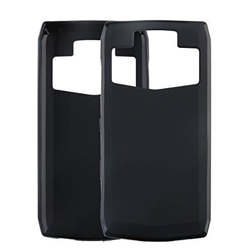 GOGODOG Ulefone Power 5 / Power 5S Hülle Hülles Cover Vollständige Abdeckung Ultra dünn Matte Anti-Rutsch Kratzen Beständig Softshell (Schwarz)