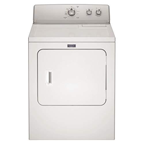 Maytag 3LMEDC315FW - Secadora semicomercial con ventilación, 10,5 kg, color blanco