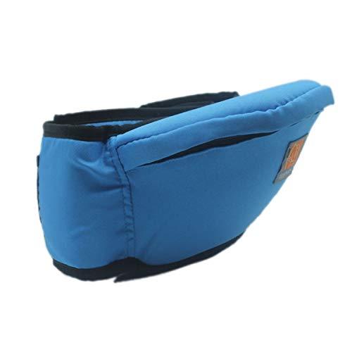Taburete de Cintura recién Nacido Walker Sling Hold Portabebés multifunción Hipseat Infantil (Color : Azul)