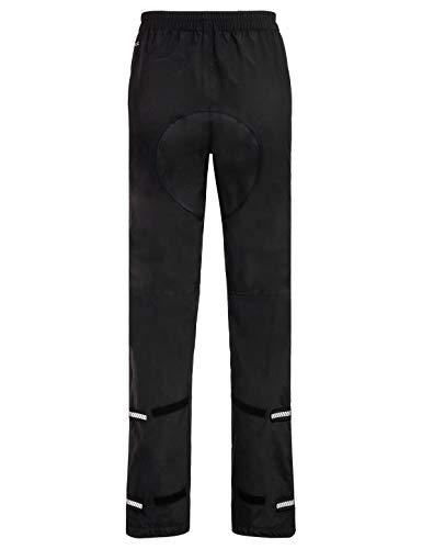Vaude Herren Yaras Rain Pants III Regenhose zum Radfahren Hose, Black, 48 - 2