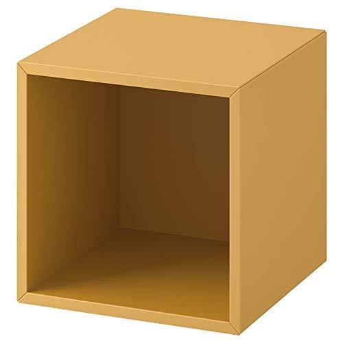 IKEA ASIA EKET - Armario (35 x 35 x 35 cm), Color Dorado y marrón