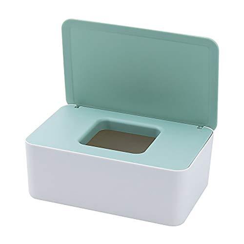 ZUNBO Feuchttücher-Spender für Babys, Sterilisation von Papiertüchern, Box für Babytücher (Grün)