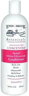 Stoney Brook Botanicals Conditioner, Unscented, 475 ml (並行輸入品)