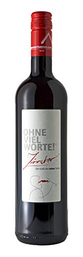 ohne viel Worte, Zinnober, Rotwein, Frankenwein, 0,75l.