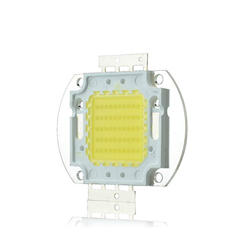 Tesfish 50W 45mil Chip Súper Brillante LED Blanco De Alta Potencia Ahorro De Energía Lámpara Bombilla Luz