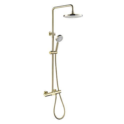 8 inch Bañera Grifo de ducha Conjunto Grifo de ducha de latón...