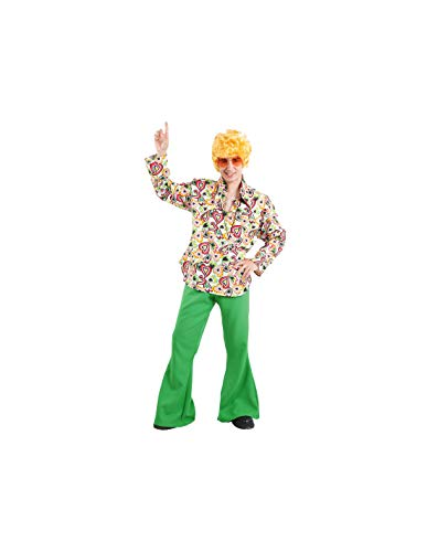 DISBACANAL Disfraz de Hippie Hombre - -, XXXL