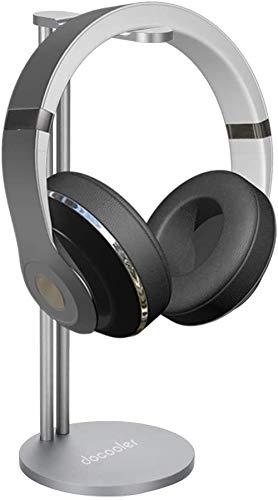 Docooler Soporte para Auriculares,Universal Soporte para Auriculares y Cascos en Mesa para...