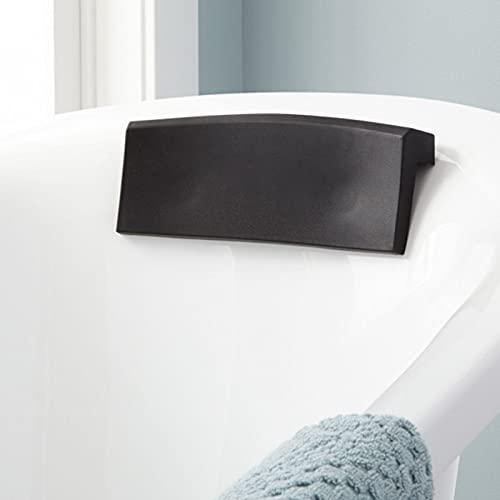 ZDLZDG Reposacabezas Cómodo Secado Rápido con 2 Ventosas SPA Cojín de Baño Durable Ergonómico Almohada de PU para Baño