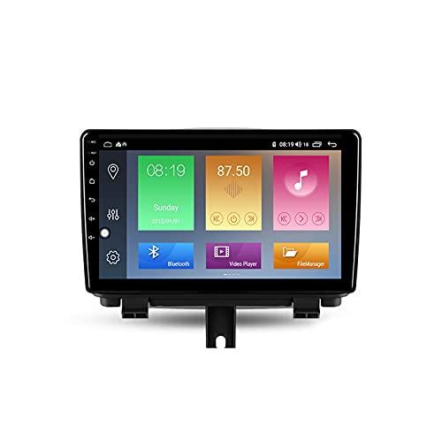 ADMLZQQ Android Autoradio 2 DIN con Bluetooth per Auto 9'' IPS Touchscreen WiFi Plug And Play Completo RCA SWC Supporto Carautoplay/GPS/Dab+/OBDII per Audi Q3 1 8U 2011-2018,M600