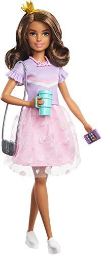 Barbie - Muñeca Teresa de Princess Adventure (29cm) con Ropa y Accesorios (Mattel GML69)