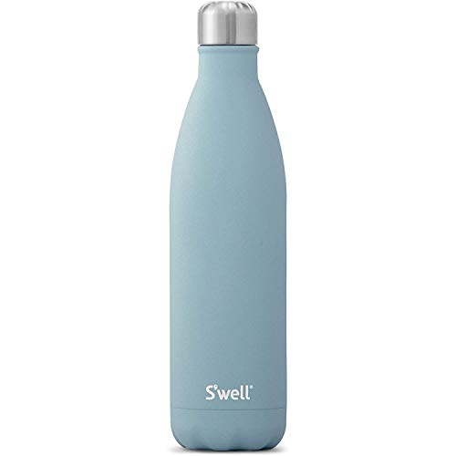 S'well Stainless Steel Water Bottle-25 Fl Oz-Aquamarine Triple-Layered Vacuum-Insulated Containers Keeps Drinks Cold for 48 Hours and Hot for 24-BPA-Free-Perfect for the Go, 25oz