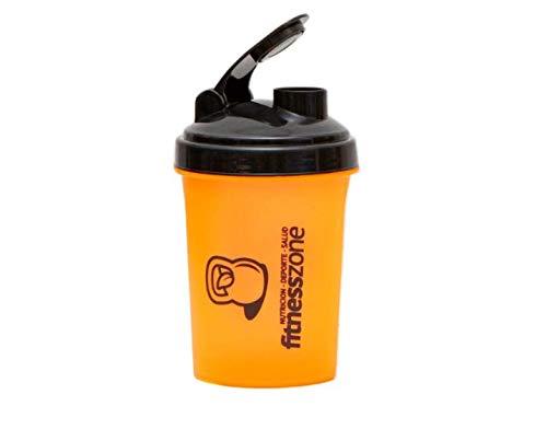 FITNESS ZONE | Nano Shaker 500 ml | Bottle Cocktail Pequeño Para Batidos de Proteínas u Otras Bebidas con Filtro Evita Grumos | Coctelera y Mezcladora Para Batidos