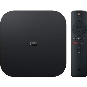 Xiaomi Mi Box S TV Box 4K Ultra HD Media Player, YouTube Netflix Chrome Cast Google Assistant Amazon Video Integrato, HDMI 4K HDR, Dolby Audio, Versione Italiana