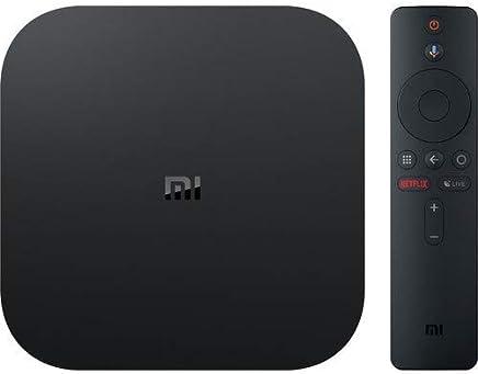 Xiaomi Mi Box S TV Box 4K Ultra HD Media Player, YouTube Netflix Google Assistant Integrato, HDMI 4K HDR, Dolby Audio, Nero [Versione Italiana]