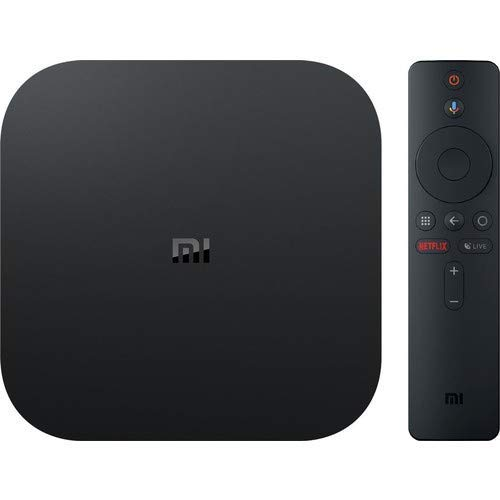 Xiaomi Mi Box S  (EU Version) 4K Ultra HD Media Player mit Google Assistent Fernbedienung, Bluetooth,HDMI) 4K HDR, Dolby Audio, DTS HD,Android 8.1 Schwarz