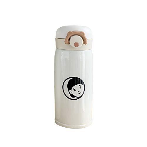 LRHD Insulated di caffè della tazza, a doppia parete della bottiglia di vuoto in acciaio inox acqua di sport, bere Flask a perfetta tenuta di viaggio tazza di metallo vuoto isolato acqua Boccette bott