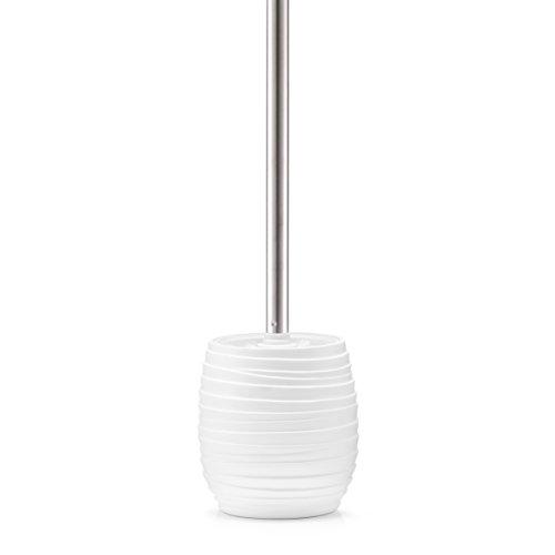 Zeller WC-Bürste, Kunststoff, Weiß, Durchmesser 11 x 37,5 cm