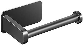 Toiletrolhouder zelfklevend - toiletrolhouder voor badkamerstok op muur roestvrij staal geborsteld, geen boren vereist, st...