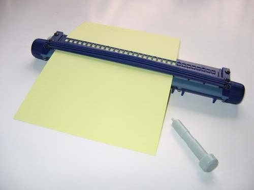 The Braille Store Read-and-Write Slate (Upward Writing Slate With Roller)