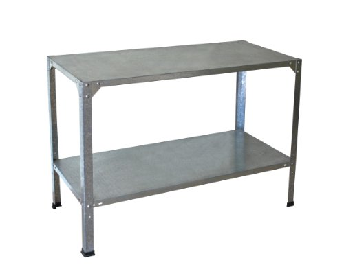Palram Greenhouse Accessory Steel Work Bench - Silver
