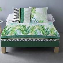 LINGE USINE Parure de draps Timor pour lit de 160 x 200 cm 4 Pieces