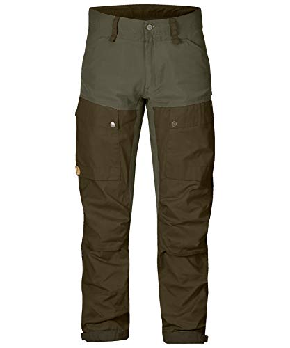 FJALLRAVEN Keb Trousers Regular Hose für Herren 44 grün (Deep Forest-Laurel Green)