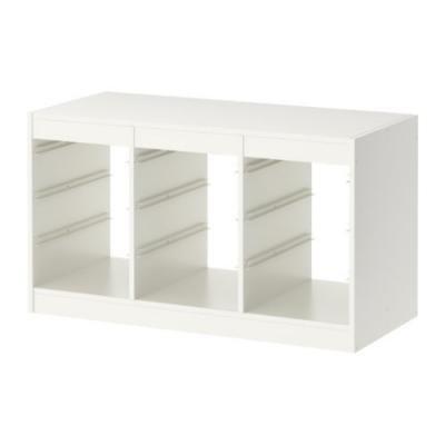 ★トロファスト / TROFAST フレーム ホワイト / W[イケア]IKEA(00169918)