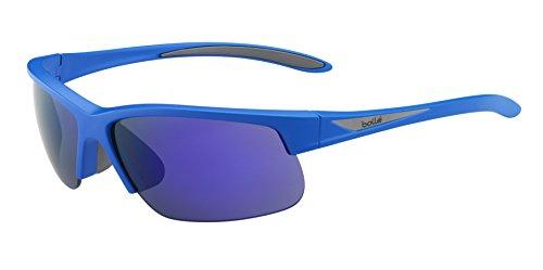 bollé Breaker Gafas, Unisex Adulto, Azul (Matte), M